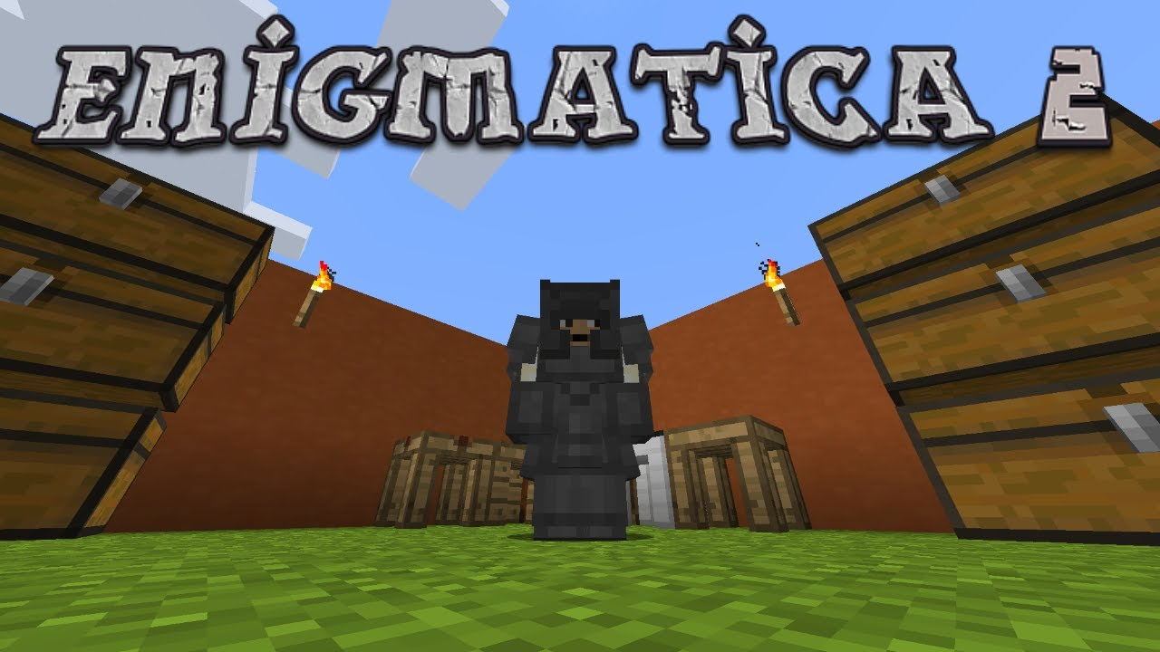 Enigmatica 2 #3 - Construct's Armor and New Tools (Modded Minecraft 1 12 2)