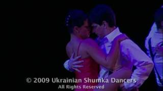 Ukrainian Shumka Dancers - Girl in the Red Dress Tango