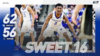 Kentucky vs. Wofford: Second round NCAA tournament extended highlights