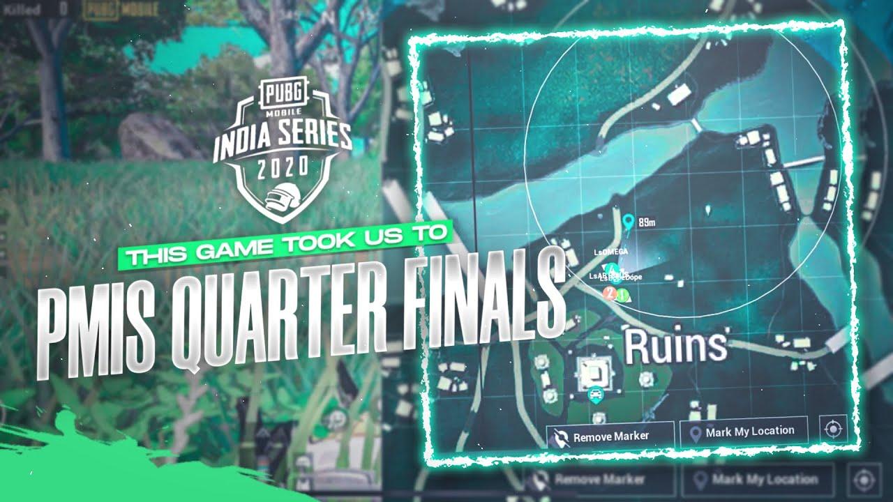 This Game Took Us To PMIS Quarter Finals | PMIS Highlight | Pubg Mobile