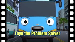 Tayo the problem solver l 📽 Tayo's Little Theater #34 l Tayo the Little Bus