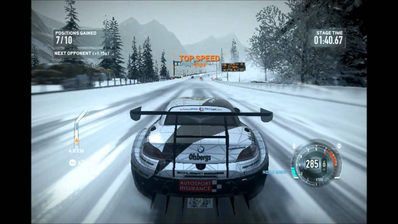 Need For Speed The Run Bmw Z4 Gt3 Youtube