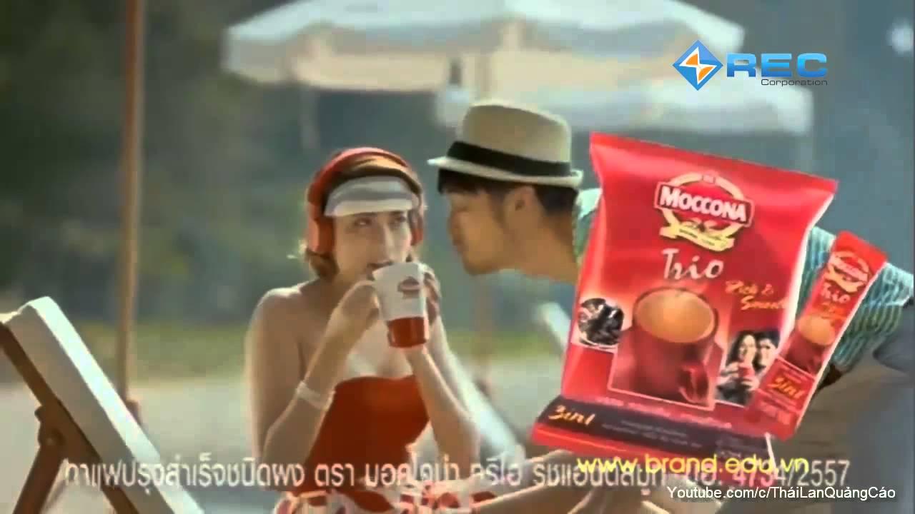 Phim quảng cáo THÁI LAN  TVC COFFE MOCCONA TRIO, phim hay