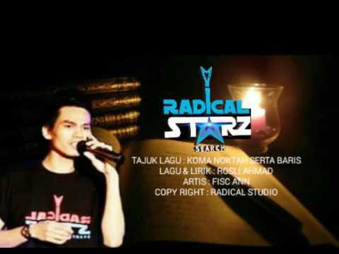 Fisc An - koma noktah serta baris official lirik video ,kompuser : Rosli ahmad ,musik : Ruby wahyu
