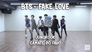 Cosas que NO viste en Dance Practice de. FAKE LOVE - BTS