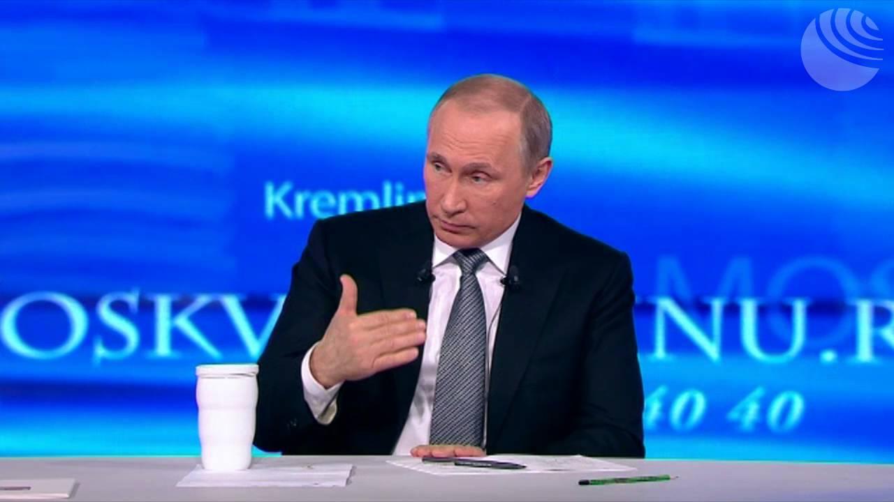 Владимир Путин о словах Обамы про Ливию