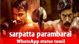 Dancing rose / sarpatta parambarai / WhatsApp status Tamil / Ms editz tamil