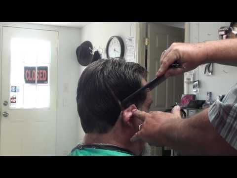 CLASSIC OLD TIME STYLE ! MASTER BARBER MICHAEL CASSIDY !!