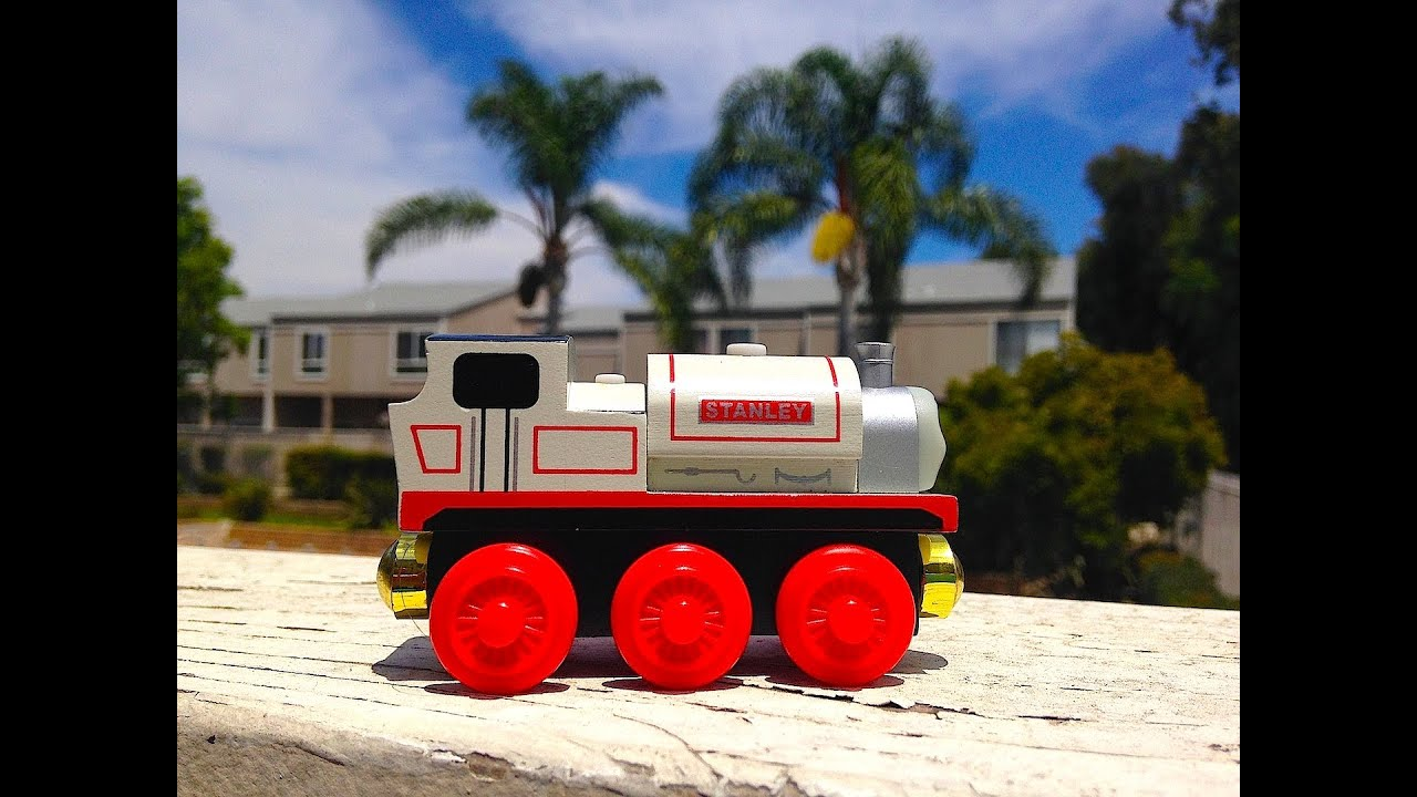 Thomas Amp Friends Stanley Wooden Railway Toy Train Review