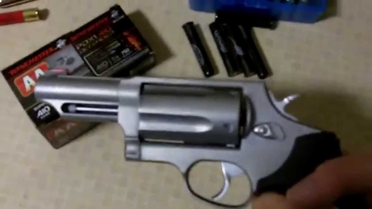Taurus Judge Review + what kind of ammo to use - YouTube - photo#11