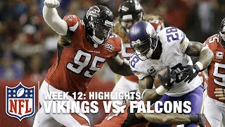 Vikings vs. Falcons | Week 12 Highlights | NFL