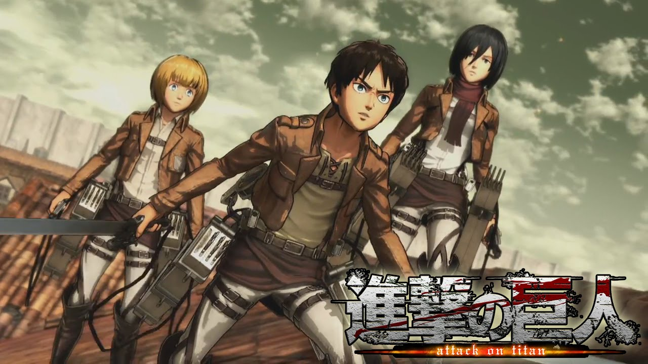 Attack on Titan Game NEW Action, Story-Camp Gameplay (PS4 ...