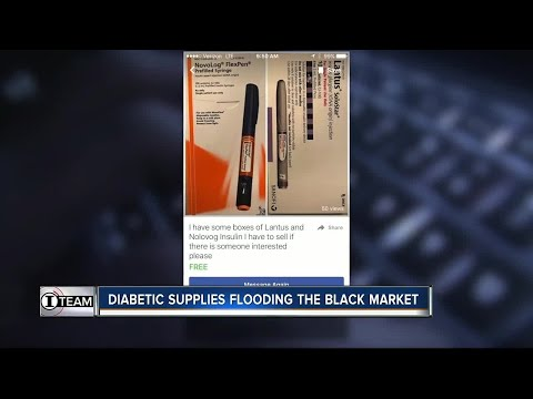 Diabetics sell insulin and test strips on black market for extra cash