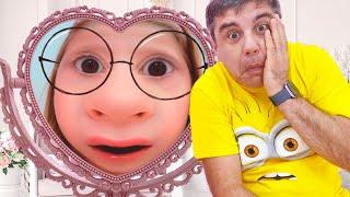 Nastya dan cermin ajaib mengubah wajah, cerita lucu untukanak-anak