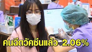 ก.อุดมศึกษาฯ เผยคนไทยฉีดวัคซีนโควิดแล้วเฉลี่ย 2.06% 'ภูเก็ต' ฉีดครบ 2 เข็มมากสุด