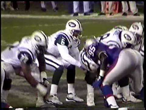 Jets vs Patriots 1999