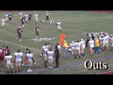 2015 Trents Chmelik first 7 games Countryside High School / QB #9