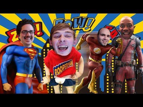 SML CREW PICKS A FAVORITE SUPERPOWER!!