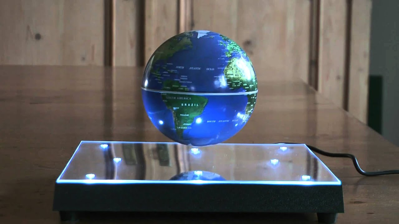 Floating globe magnetic levitation hd 1080p youtube gumiabroncs Gallery