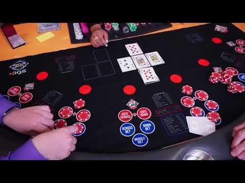 How To Play Criss Cross Poker | Rhythm City Casino Resort