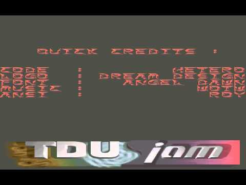 TDU-Jam - A little cracktro - ht-tduj