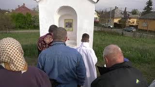 Karcagi Római Katolikus szentmise 2019.04.12. ( Keresztút a Kálvária dombon )