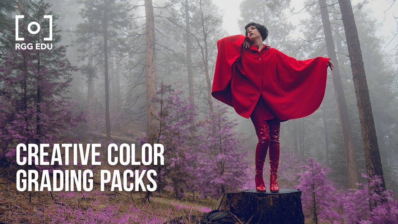Creative Color Grading Packs | PRO EDU Trailer