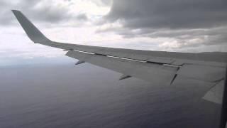Boeing 767 Lan Chile Landing Isla de Pascua (easter Island)