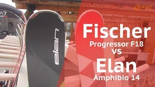 Fischer Progressor F18 vs Elan Amphibio14