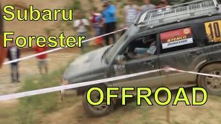 Серьёзное бездорожье на Subaru Forester 2013 - 2015