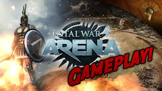Total War: ARENA - GAMEPLAY #1 - Dine in Hell!