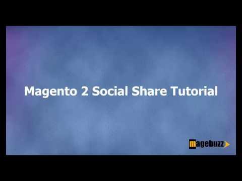 [Free] Magento 2 Social Share Tutorial