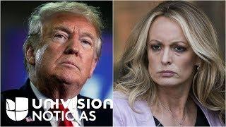 Controversia por mensajes de Trump en Twitter contra la actriz porno Stormy Daniels