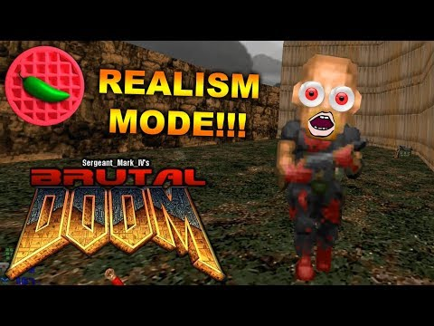 DOOM GETS REAL! -- Brutal Doom (Brutal Doom v21 Public Beta Realism Mode)