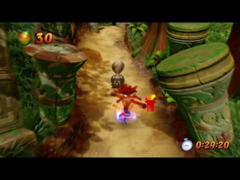 Crash N. Sane Trilogy (PS4) - Jungle Rollers in 0:40:47 By fran_friki