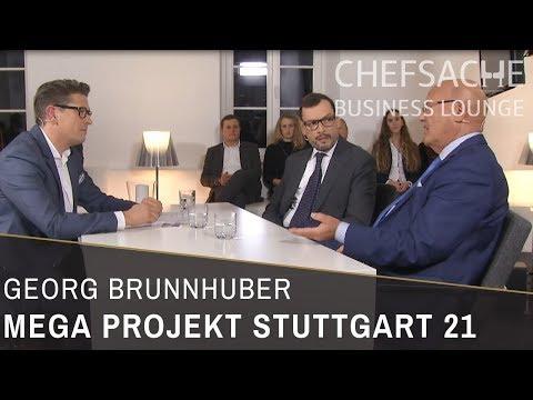 CHEFSACHE BUSINESS LONGE | das Megaprojekt Stuttgart 21 - Milliarden für die Mobilität