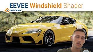 Eevee Glass / Windshield Shader | Blender 2.93