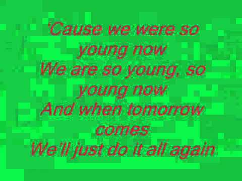 THE CORRS SO YOUNG WITH LYRICS.wmv