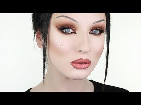 Rose Bronze Cat Eye Makeup | John Maclean