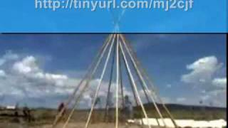How To Construct A Plains Indian Tipi