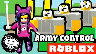 I have my ARMY of NOGIANTS-[🏹 ARCHER UPDATE] Army Control Simulator | Roblox | Daddy and Barunka CZ/SK