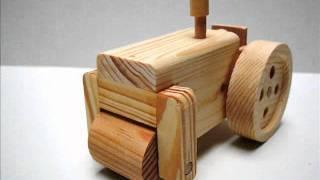 Wooden Toy Kit - Steam Roller