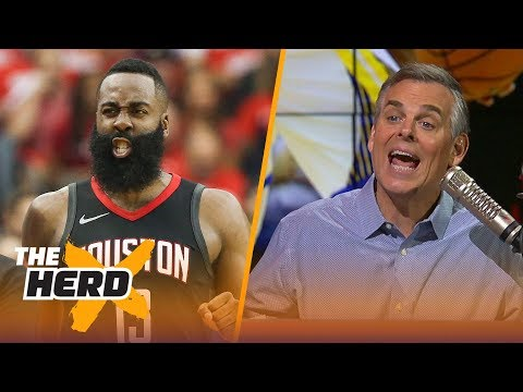 Colin Cowherd on why James Harden is Russell Westbrook, Talks Warriors vs Rockets | NBA | THE HERD