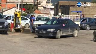 VTR  sur la contrebande entre l'Algérie et la Tunisie  Le trafic de carburant