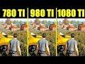 PUBG Pc GTX 1080 TI Vs GTX 980 TI Vs GTX 780 TI 8700K Frame Rate Comparison