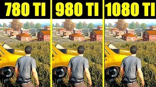 Скачать PUBG Pc GTX 1080 TI Vs GTX 980 TI Vs GTX 780 TI 8700K Frame Rate Comparison