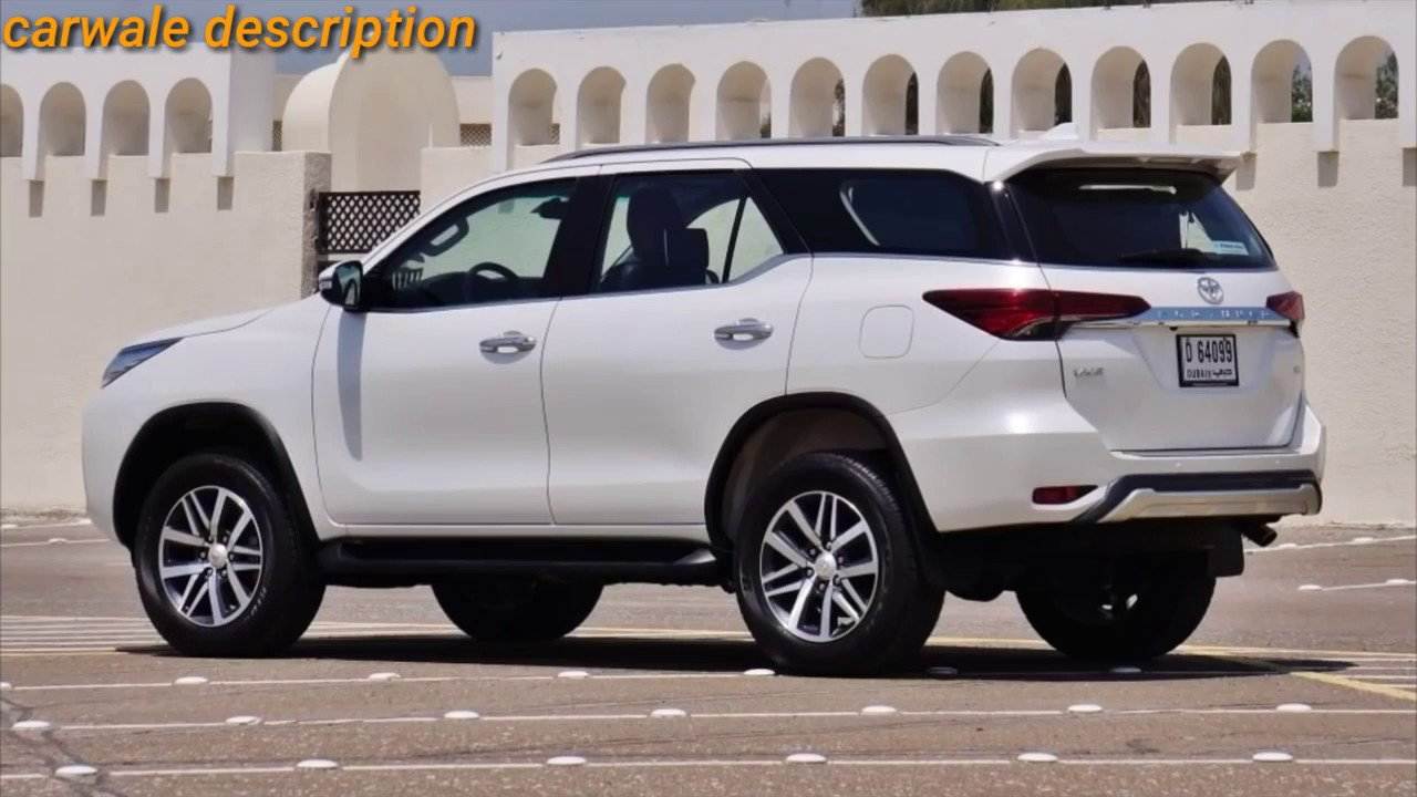 2019 Toyota Fortuner Facelift Lunch In Soon Youtube