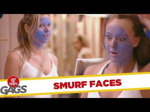 Smurf Tan Prank - Throwback Thursday