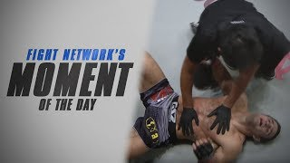 Moment of the Day: Phil Baroni Snaps Ankle at ONE: Rise to Power