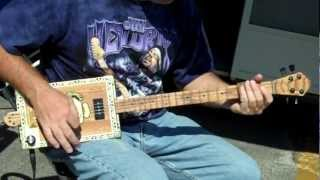 Cigar Box Guitars @2011 King Biscuit Festival